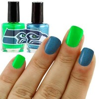 NFL Seattle Seahawks Two-Pack Team Colored Nail Polish