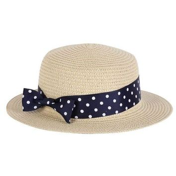 PEAP78W Beach Caps Women Ladies Summer Wide Brim Beach Sun Hat Straw Floppy Bohemia Caps