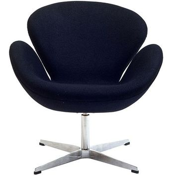 Lucile Lounge Chair BLACK