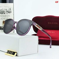 GUCCI Fashion New Polarized Stripe Travel Leisure Women Men Glasses Eyeglasses 4#