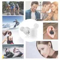 X1T 1 Pair Bluetooth V4.2 Earphone Separated Headset