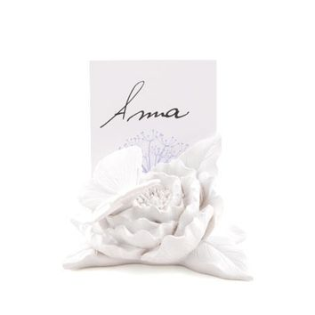 Ornamental Butterfly Garden Place Card Holders White (Pack of 8)