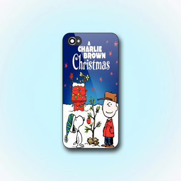 Charlie Brown Christmas - iPhone 4/4s Case - iPhone 5 Case - Samsung Galaxy S3 case - Samsung Galaxy S4 case