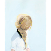 "Elizabeth Mayville ""Hair Braid"" Print 