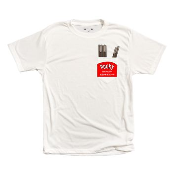 Milk Chocolate Pocky Pocket Tee