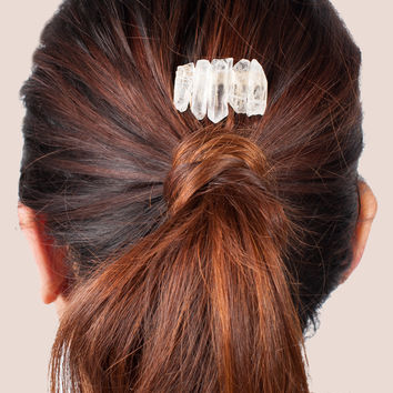 Quartz Stone Hairclip