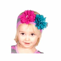 Giggle Moon-Golden Crown Knit Headband  (size Toddler)