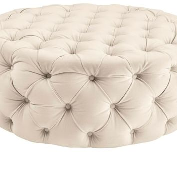 Jules Round Ottoman | Ottomans | Living Room Furniture | Furniture | Z Gallerie