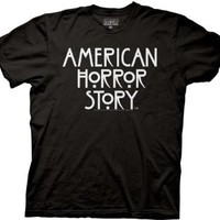 Ripple Junction American Horror Story AHS Logo Adult T-Shirt 2XL Black