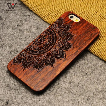 Bamboo Wood iPhone Case Cover - Shockproof