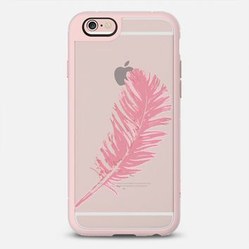 feather in pink iPhone 6s case by Julia Grifol Diseñadora Modas-grafica   Casetify