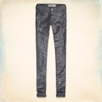 Hollister Sequin Front Jeggings