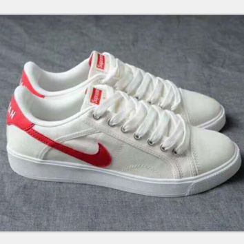 NIKE air jordan sky high OG Sports Shoes white -red hook H-PSXY