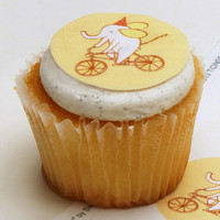Ticings Elebike Party Icing Toppers, 15-Count - World Market