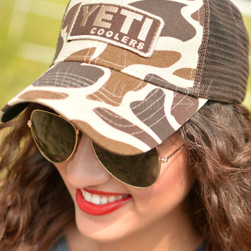 Yeti Coolers Camo Hat