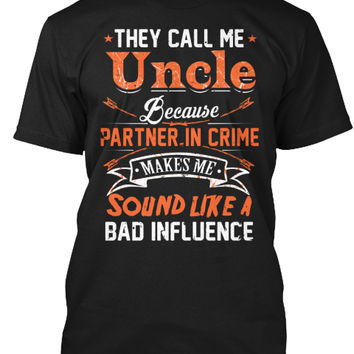They Call Me Uncle Because Partner..