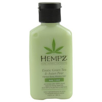 HEMPZ by Hempz HERBAL MOISTURIZER BODY LOTION- EXOTIC GREEN TEA & ASIAN PEAR 2.25 OZ