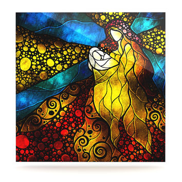 """Mandie Manzano """"What Child Is This"""" Luxe Square Panel"""