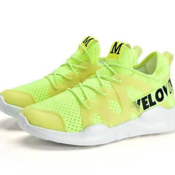 Fashion casual student athletic shoe pure female running shoes.