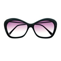 Celebrity Fashion Designer Womens Cat Eye Sunglasses Shades C98