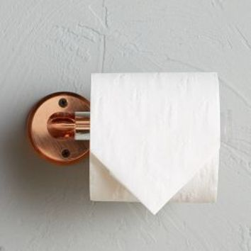 Aberdeen Toilet Paper Holder by Anthropologie in Copper Size: Toilet Paper Holder Bath