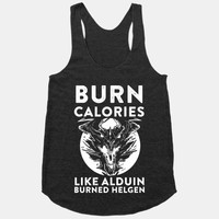 Burn Calories Like Alduin Burned Helgen