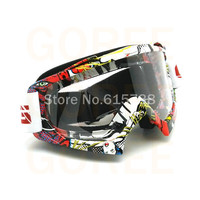 Transparent Goggle Sport racing off road motocross goggles glasses motorcycle Clear Lenses