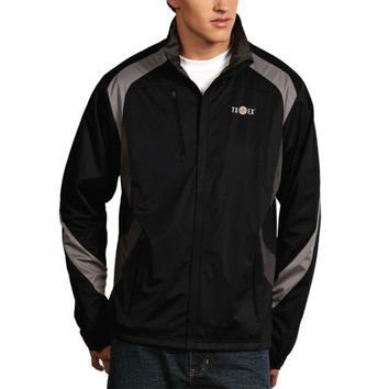 Texas Longhorns Antigua Tempest Alumni Full Zip Jacket – Black