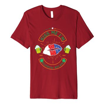 Kiss Me I'm Puerto Rican Shirt St Patricks Day 2018 Outfit 3