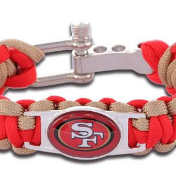 NFL - San Francisco 49ers Custom Paracord Bracelet