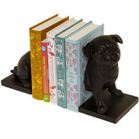 Canine Companion Bookends in Pug | Mod Retro Vintage Decor Accessories | ModCloth.com