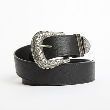 Plus Size Western Buckle Belt