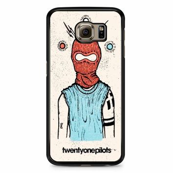 Twenty One Pilots Poster Art Samsung Galaxy S6 Edge Plus Case