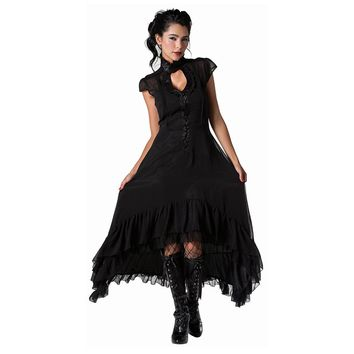 Jawbreaker Romantic Flowing Chiffon High Low Dress