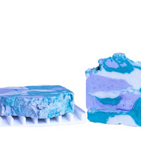 Mermaid Camo moisturizing body soap