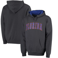 Men's Colosseum Charcoal Florida Gators Arch Pullover Hoodie