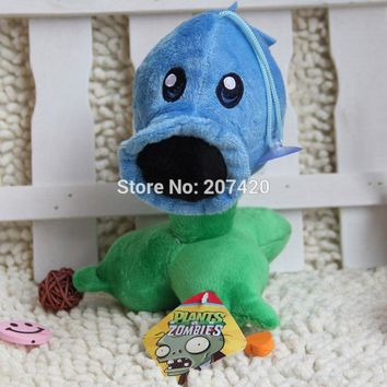 6.7inch Cute Plant Vs Zombies Series Plant Ice Peashooter Plush Toy Doll,1pcs/pack