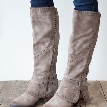Not Rated Yoko Boot - Taupe