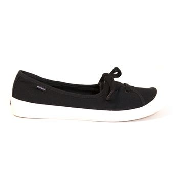 Palladium Flex Ballet - Black 2-Eye Slip-On Comfort Sneaker