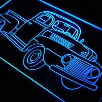 Vintage Truck Collection LED Neon Light Sign