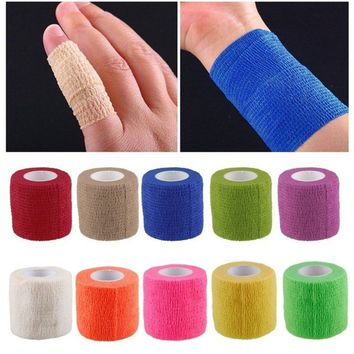 Bandage finger wrist support soccer basketball sports ankle support kneepad waist support tape #msgsu coltd#