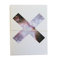 interstellar x note card