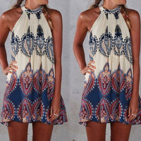 Bohemian Sleeveless Dress