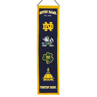 Notre Dame Fighting Irish NCAA Heritage Banner (8x32)