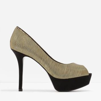 Peep-Toe Stilettos | CHARLES & KEITH