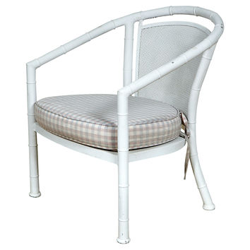 Faux-Bamboo  Lounge Chair