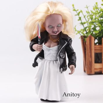 Bride of Chucky Scary Chucky Figure GOOD GUYS CHUCKY Toys Horror Movies Child's Play Action Figure Dolls Collectible Toy 10-15cm