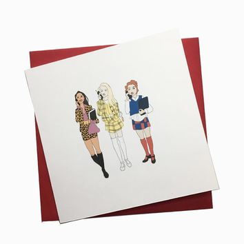 Clueless Greeting Card