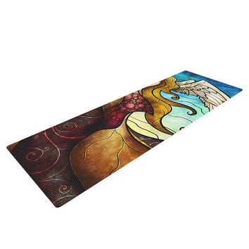 "Mandie Manzano ""In the arms of the Angel"" Yoga Mat"