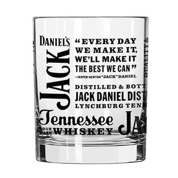 Jack Daniel's Spirit Rocks Glass